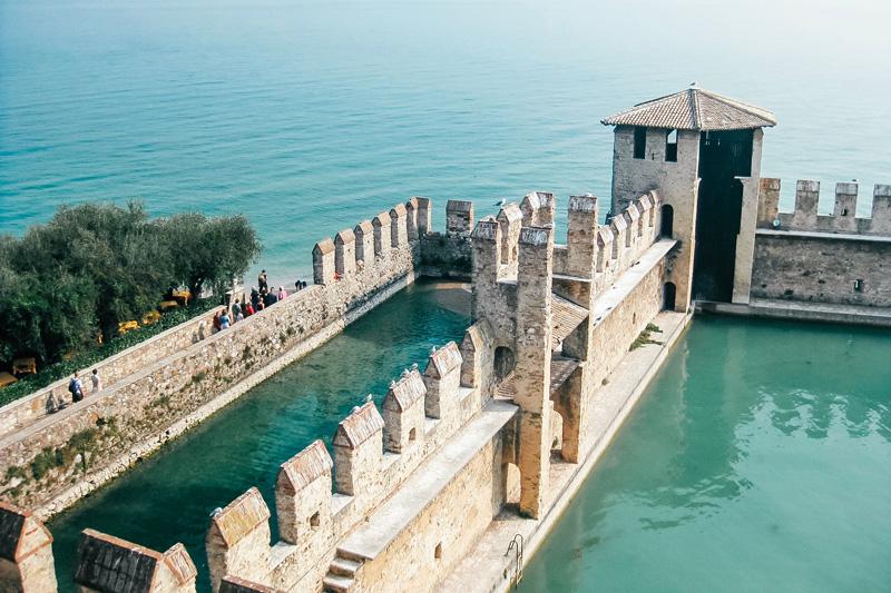 Castello Scaligero sul Lago di Garda